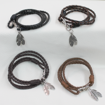 leather brac
