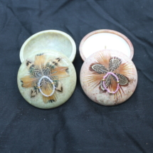 3 inch Smudge Pots Decorated
