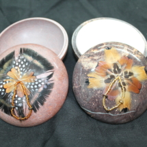 4 inch Smudge Pots Decorated