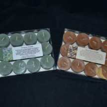 Boxed Tealights - 1 dozen