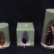 Oval & Square Candles